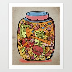 Pickles Art Print