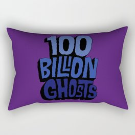 100 Billion Ghosts Rectangular Pillow