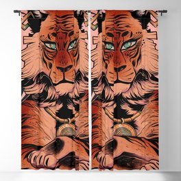 Bengal Beauty Blackout Curtain