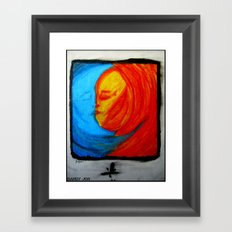 Cosmosis Framed Art Print