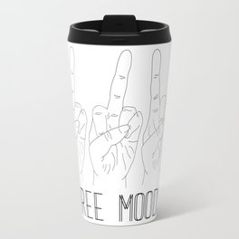 Three moods Travel Mug