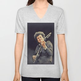Mike Bloomfield, Music Legend Unisex V-Neck