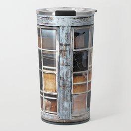 Wood in the Windows Travel Mug