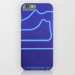 Sebring International Raceway iPhone Case