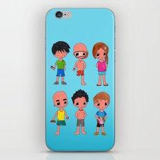 MiniPolseres Estiu iPhone & iPod Skin