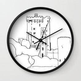 Irish Castle Wall Clock