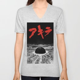 Neo Tokyo Is About to Explode Unisex V-Neck