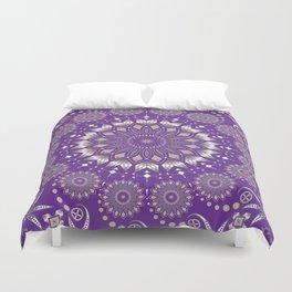 Ancestors (Purple) Duvet Cover