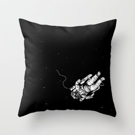Lost in Eternity Throw Pillow