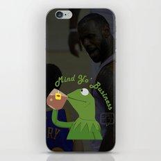Mind Yo Business iPhone & iPod Skin