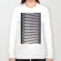 bar Long Sleeve T-shirts featuring Bar by Goolpia
