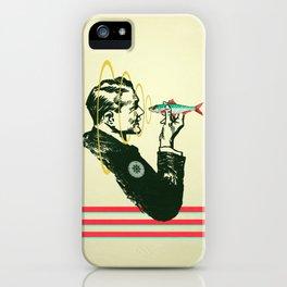 Hypnotic sardine  iPhone Case
