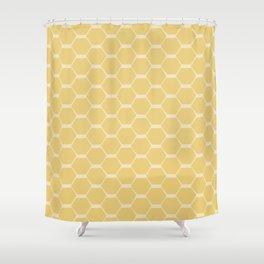 hexagons (1) Shower Curtain