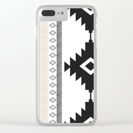 Pueblo in Tan Clear iPhone Case