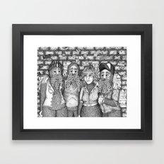 Closing Time Framed Art Print