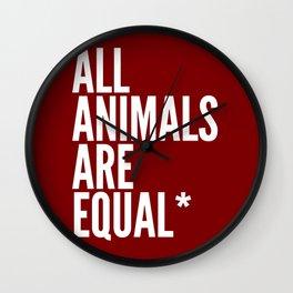 Orwell (2) Wall Clock