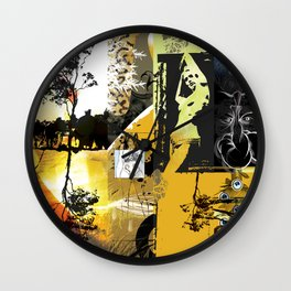 Exquisite Corpse: Round 1 Wall Clock