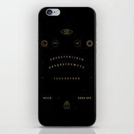 Witch Spirit Board iPhone Skin