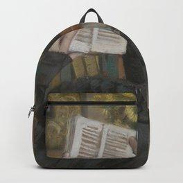 Albert Bartholomé - The Artist's Wife (Périe, 1849–1887) Reading Backpack