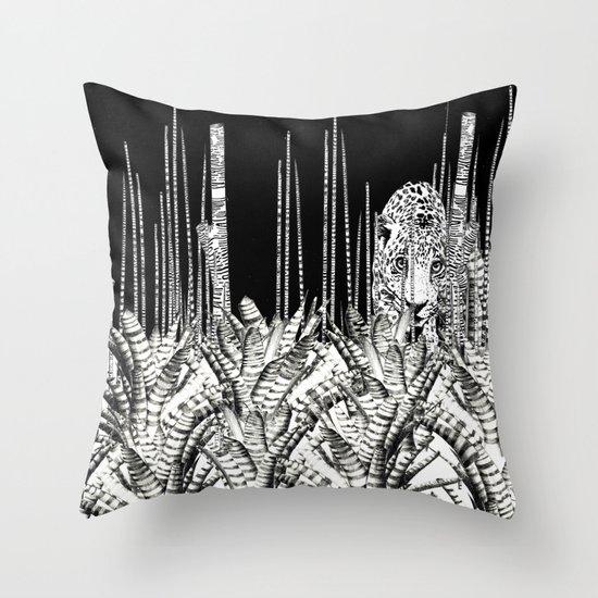 Camouflage UZU JUNGLE Throw Pillow