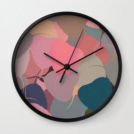 Bodhitree Leave Patten (Autum) Wall Clock