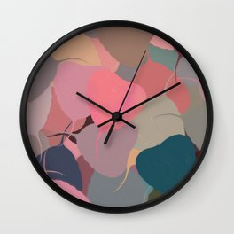 Bodhitree Leave Patten (Autum) Wall Clock