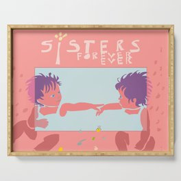 Sisters Forever Ever, Twins Serving Tray