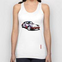 porsche Tank Tops featuring Porsche 911 by Remove Before . . .