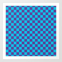 Checkered Pattern III Art Print