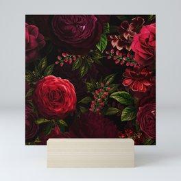 Mystical Night Roses Mini Art Print