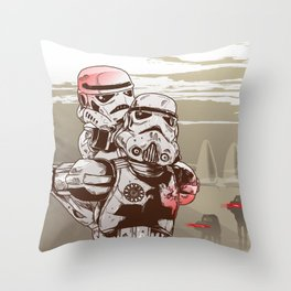 Storm Troopers Throw Pillow