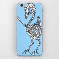 pigeon iPhone & iPod Skins featuring Pigeon by Doe.