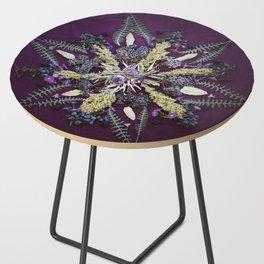 Nature Mandala: September Side Table