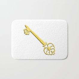 Golden Key Bath Mat