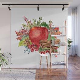 Apple Bouquet Wall Mural