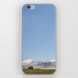 Harrowing Times In Oregon iPhone Skin