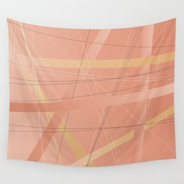 Criss Cross Background Wall Tapestry