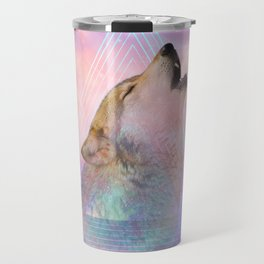 Dream By Day (Wolf Dreams - Remix Series) Travel Mug