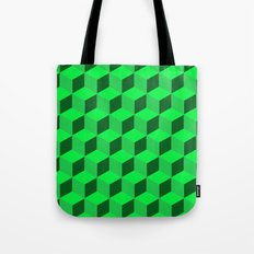 Geometric Series (Green)  Tote Bag