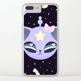 Space Cutie Clear iPhone Case