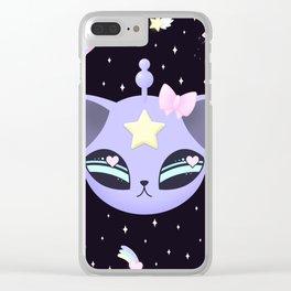 Space Cutie Clear iPhone Case