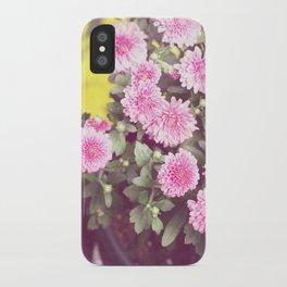 Vintage - Flower Pots iPhone Case