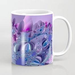 Stormy fractal waters and the lighthouse Coffee Mug