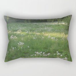 Lawn Wishes Rectangular Pillow