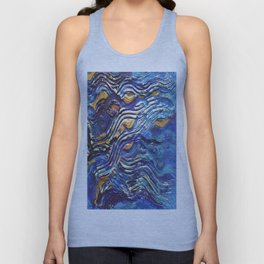 Abstract nautical background Unisex Tank Top