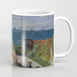 Garden at Sainte-Adresse Coffee Mug