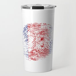It's In My Dna Cambodian Flag Vintage Cambodia Gift Travel Mug