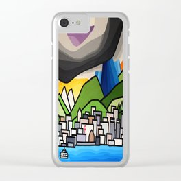 North Shore Rain Clear iPhone Case
