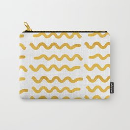 GOLD WIGGLE Carry-All Pouch