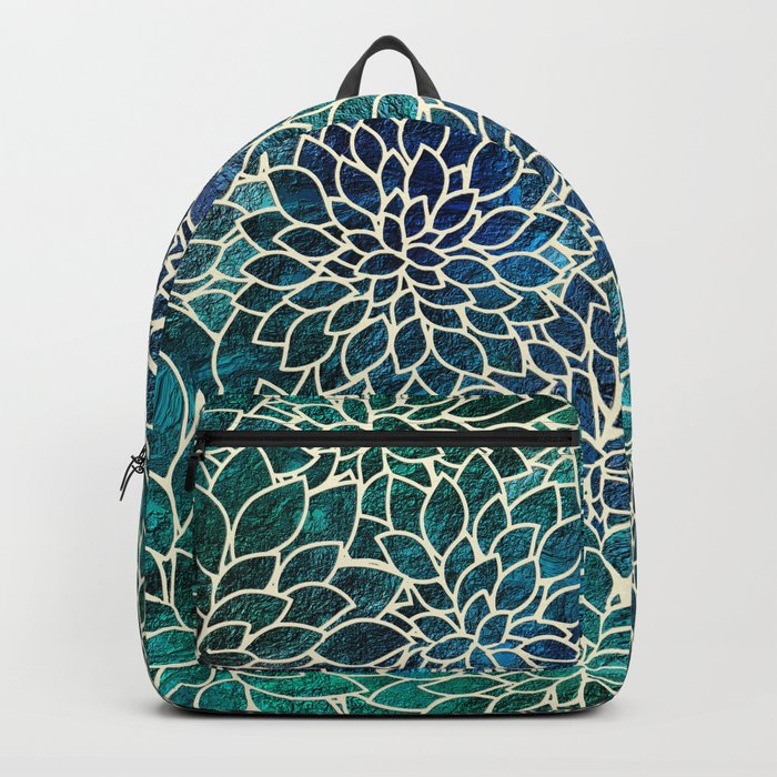 Floral Abstract 4 Backpack